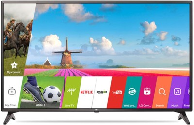 LG 108cm (43) Full HD Smart LED TV(43LJ617T, 2 x HDMI, 2 x USB) (LG) Tamil Nadu Buy Online